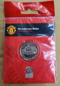 Manchester United Official Merchandise The Royal Mint Collectors Medal New