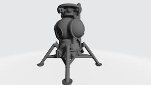 3d printed Russian LK soviet lunar craft lander