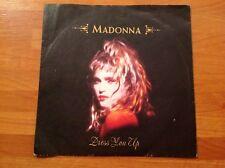 MADONNA - 1984 Vinyl 45rpm Single - DRESS YOU UP