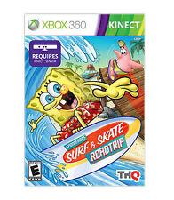 SpongeBob's Surf & Skate Roadtrip (Microsoft Xbox 360, 2011)