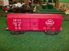 Lionel Trains Postwar No. 6050 Swifts Premium Refrigerator Box Car - Very Nice