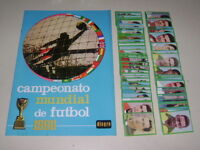 ALBUM WORLD CUP ENGLAND 66 DISGRA - ALBUM EMPTY + set of figures 100% complete