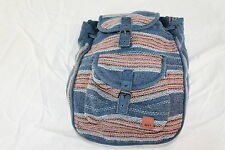 ROXY GIRLS CANVAS COTTON MULTI-FUNCTION BEACH/BOOK/TRAVEL/BACKPACK/BAG
