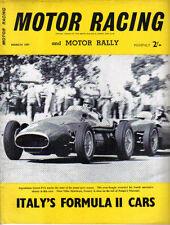 Motor Racing 03/1957  Harry Weslake Vanwall Maserati Aston Martin Elva Mk II +