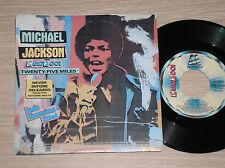 "MICHAEL JACKSON - TWENTY-FIVE MILES - 45 GIRI 7"" ITALY"