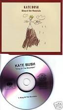 KATE BUSH King of the Mountain RARE TST PRESS PROMO CD