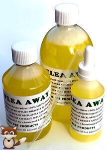 *FLEA AWAY 100% Safe Natural Dog Cat Flea Tick Treatment - GET IT FAST UK POST*