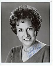 Jean Stapleton All In The Family Edith Autograph Hand Signed 8x10 B&W Glossy