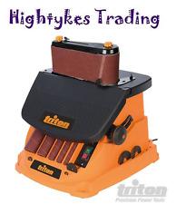 Triton 450W Oscillating Spindle & Belt Sander bobbin finger sanding