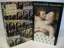MARIO VARGAS LLOSA In Praise of the Stepmother - A Fish in the Water 1st/1st Lot