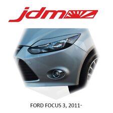 Eyebrows Eyelids Eye Line Ford Focus 3 III 2011-2013 Headlight Cover 2 pcs