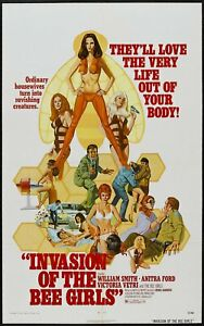 Invasion of the Bee Girls 1973 William Smith Horror DVD