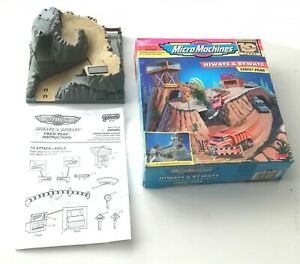 Vintage 1996 Galoob - Micro Machines - Hiways and Byways ~ YIKES! PEAK ~ Boxed