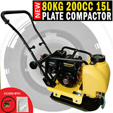 NEW Genuine 200cc Powered 80KG Plate Compactor Wacker Packer Industrial