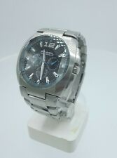 Fossil Blue BQ9307 men's Chrono watch solid stainless steel BQ-9307 10 ATM