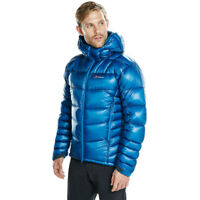 Berghaus Mens Ramche 2.0 Down Jacket Top Blue Sports Outdoors Full Zip Hooded