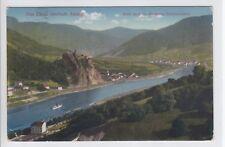 AK Usti nad Labem, Aussig, Elbtal mit Schreckenstein, 1914