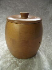 Post - 1940 Antique Wooden Tea Caddies