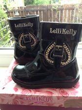 Lelli Kelly boots size EU 22 UK 5.5 nearly new with box