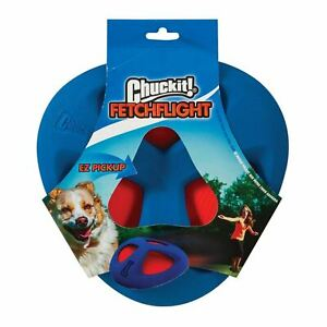 Chuckit Fetch Flight Frisbee Throw Durable Soft Rubber Grip Toy for Dog Puppy