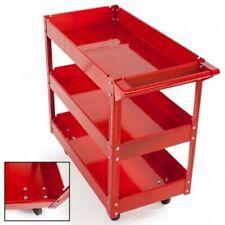 Satkit 6893 Carro de Taller Herramientas de 3 Niveles - Rojo
