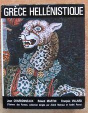 ARTS - L'UNIVERS DES FORMES / GRECE HELLENISTIQUE - HISTOIRE - NRF - GALLIMARD