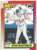 1990 Topps Baseball Card #545 Kevin McReynolds New York Mets OF