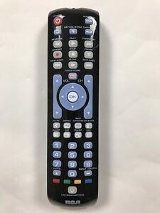 RCA Led Backlighting Remote Control TV DVD VCR RCRN04GR Universal