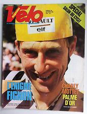"VELO Magazine n°204 du 10/1985; L""Enigme Fignon/ Charly Mottet palme d'or"