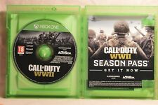 Call Of Duty World War Two - COD WWII For Xbox One Perfect Condition