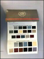 1986 Cadillac Original Paint Color Guide Brochure Fleetwood Deville Cimarron
