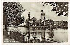 AK -Triptis i. Thüringen - Kirche und Schlossturm 1940 (Bahnpost)