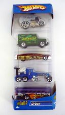 HOT WHEELS URBAN 5-PACK Gift Set Die-Cast Cars MISB 2006