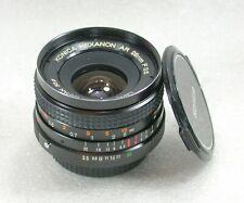 Konica Hexanon AR 28mm F3.5 Manual Focus Wide Angle Lens No. 6808160