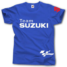 SUZUKI TEAM S-XXXL T SHIRT R GSX MOTORCYCLE RACING MOTO SPORT GP