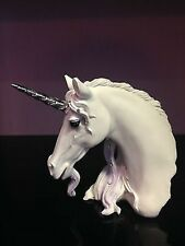 Large Jewelled Magnificence Unicorn Bust Ornament.Free P&P Mythical Magic Animal