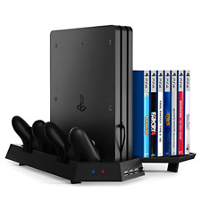 Kootek Vertical Stand for PS4 Pro with Game Storage and Cooling Fan Dual Control