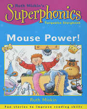 """""""VERY GOOD"""" Superphonics: Turquoise Storybook: Mouse Power!, Miskin, Ruth, Book"""