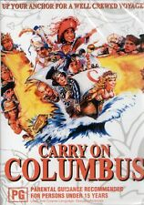 CARRY ON COLUMBUS. Rik Mayall, Jim Dale. Region free. New sealed DVD.