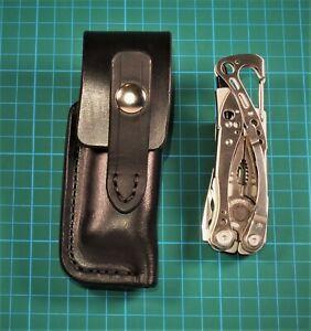 Tasche / Holster für Leatherman Skeletool, deutsche Sattlerqualität, schwarz, RH