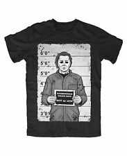 Myers Mugshot premium T-Shirt Halloween,Movie,Kult,Michael,Horror,Freddy,Jason