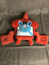 TOMY 2017 New Edition Pokemon Rotom Dex Pokédex Plush Doll Soft Poke Toy Gift