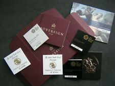 More details for royal mint uk proof sovereign certificates 1981 to 2021 - choose your year