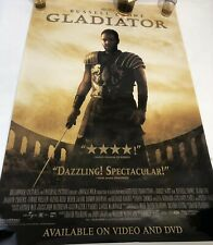 Russell Crowe Gladiator Dvd Movie Release Poster 27x40