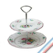 Collection REVERBERE table  - Serviteur 2 étages Louis XV - H 28,5 cm
