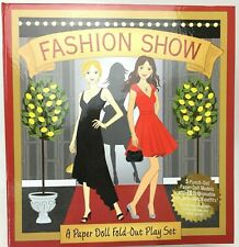 Heather Zschock Uncut Paper Doll Fashion Show Fold-Out Play Set