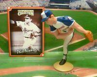 1998  PHIL NIEKRO - Starting Lineup COOPERSTOWN Baseball Figure & Card - BRAVES