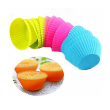Silicone Muffin Molds Cupcake Dessert Baking Pans Liners Cups Tool Wholesalers