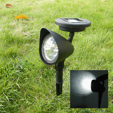 3 LED Solar Powered Spot Light Outdoor Garden Lawn Landscape Spotlight Path Lamp