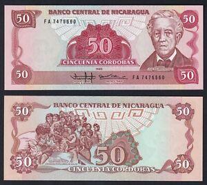 Nicaragua 50 cordobas 1988 FDS/UNC  B-09